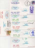 CONCORDE Plis Transportés à Bord Tour Du Monde - Concorde