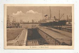 Cp , Bateau , Paquebot ,  62 ,  CALAIS ,  Le Bassin Canal ,  Voyagée 1929, Ed.Bonneau - Dampfer