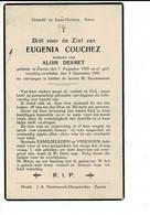 DP 8021 - EUGENIA COUCHEZ - ZARREN 1855 + 1935 - Images Religieuses