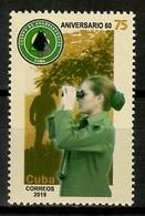 Cuba 2019 / Forest Ranger MNH Guardabosques Bosques Wildhüter / Cu13527  C3-4 - Árboles