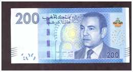 Maroc. Billet De 200 DH. SM Hassan II. Etat Bon. Numéros Se Suivant. - Marokko