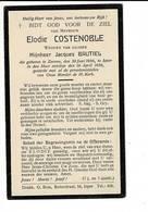 DP 8026 - ELODIE COSTENOBLE - ZARREN 1856 + IEPER 1936 - Images Religieuses