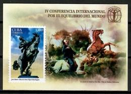 Cuba 2019 / Jose Marti Horses MNH Caballos / Cu13529  C3-26 - Ungebraucht
