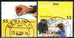 BRD - Mi 2723 / 2724 - OO Gestempelt (A) - 55-55C                  Post Universal I - [7] République Fédérale