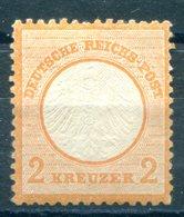 Deutsches Reich Brustschilde - Michel 15 Ungebr.*/MH - Ungebraucht