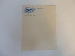 Papier à Lettre Hamburg-Amerika-Linie. - Transports