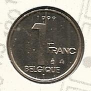 1 Frank 1999  Frans * FDC * ALBERT 2 * - 02. 1 Franc