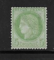 France Timbre De 1872 Type Céres  N°53 NSG  Cote 100€ - 1871-1875 Cérès