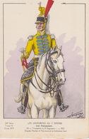 Uniformes Du 1 Er Empire Trompette Du 8eme Régiment 1810 ( Tirage 400 Ex ) - Uniformen