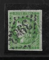 France Timbre De 1870  N°42B Oblitéré  Cote 200€ - 1870 Emission De Bordeaux