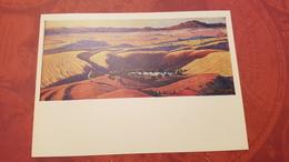 BURDIYA SANDS  OLD USSR Postcard  - Mongolia,  -  1972 - Mongolei
