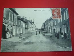 CPA 1913  AUCH  RUE DE METZ   ETAT BON - Auch