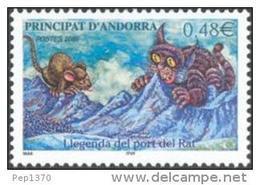 ANDORRA FRANCESA 2005 - LLEGENDA DEL PORT DEL RAT  - Yvert Nº 606 - Andorra Francesa