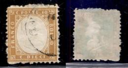 REGNO - 1862 - 10 Cent (1) - Usato (700) - Unclassified