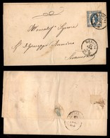 REGNO - 15 Cent Su Lettera Da Messina A Siracusa Del 22.7.63 (100) - Unclassified