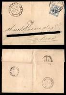 REGNO - Montalcino 6.1.63 (P.ti 3) - 15 Cent (12) Su Lettera Per Siena - Indirizzo Cancellato - Unclassified