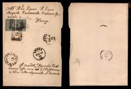REGNO - Par (oco) Dell'arancio - Coppia Del 1 Cent (14) Su Piego Da Lucca A Pisa Del 3.5.66 - Unclassified