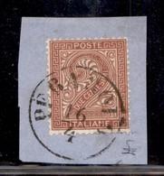 REGNO - Perarolo 16/4 (P.ti 6/8) - 2 Cent (15) Su Frammento - Unclassified