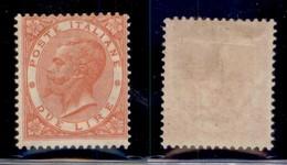 REGNO - 1863/1865 - 2 Lire VE II (T22) - Gomma Originale - Unclassified