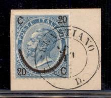 REGNO - S. Sebastiano D. (P.ti 3) - 20 Cent Su 15 (23) Su Frammento - Unclassified