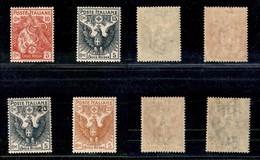 REGNO - 1915/1916 - Croce Rossa (102/105) - Serie Completa - Gomma Originale (80) - Unclassified
