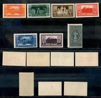 REGNO - 1929 - Montecassino (262/268) - Serie Completa - Gomma Originale (50) - Unclassified