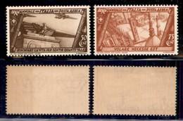 REGNO - 1932 - Marcia Su Roma (42/43 - Aerea) - Serie Completa - Gomma Integra (37,50) - Unclassified