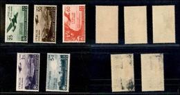 REGNO - 1936 - Orazio (95/99 - Aerea) - Serie Completa - Gomma Originale Con Aderenze Di Colore (70) - Unclassified