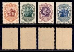 REGNO - 1942 - Galileo Galilei (462/465) - Serie Completa - Gomma Integra - Unclassified