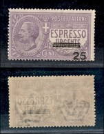 REGNO - 1917 - 25 Su 40 Cent Espresso (3) - Gomma Integra (150) - Unclassified