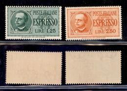 REGNO - 1932/1933 - Vittorio Emanuele III - Espressi (15/16) - Serie Completa - Gomma Integra (1,50) - Unclassified