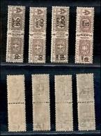 REGNO - 1923/1925 - Pacchi Postali Soprastampati (20/23) - Serie Completa - Gomma Originale (22) - Unclassified