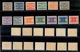 REGNO - 1934 - Segnatasse (34/46) - Serie Completa - Gomma Originale (40) - Unclassified