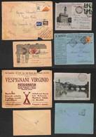REGNO - 1902/1940 - Quattro Buste Illustrate Con Affrancature Del Periodo - Da Esaminare - Unclassified