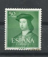 ESPAÑA EDIFIL  1106  MNH  ** - 1951-60 Nuevos & Fijasellos