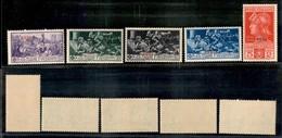 COLONIE - Egeo - Rodi - 1930 - Ferrucci (15/19) - Serie Completa - Gomma Integra (90) - Stamps