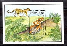Hoja Bloque De Sierra Leona N ºYvert 139 ** SETAS (MUSHROOMS) - Sierra Leona (1961-...)