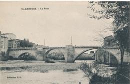 CPA - France - (30) Gard - Saint-Ambroix - Le Pont - Saint-Ambroix