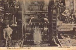 Luxembourg, Differdange, Eisenindustrie, Usine     (bon Etat) - Differdange