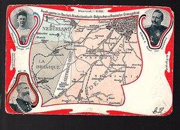 Vierlandenpunt Neutralen Grenzgebiet 1904 (damaged) (Bel692) - Andere