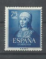 ESPAÑA EDIFIL  1093    MNH  ** - 1951-60 Nuevos & Fijasellos