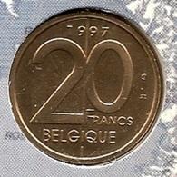 20 Frank 1997 Frans * F D C Uit Muntenset * - 1993-...: Albert II