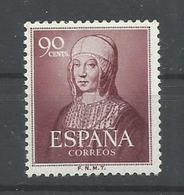 ESPAÑA EDIFIL  1094    MNH  ** - 1951-60 Nuevos & Fijasellos
