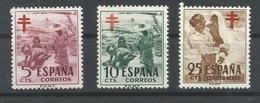 ESPAÑA EDIFIL  1103/5     MNH  ** - 1951-60 Nuevos & Fijasellos