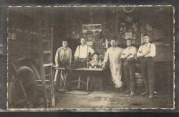 France - 90 - 2 Cartes-Photo - 1929/30 - Caserne Peloton 7 BOA - La Bourellerie  Et Jeux Militaire - Belfort - Ville