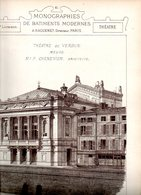 Monographies De Bâtiments Modernes N° 78 : Théâtre De Verdun (55) - Architecture