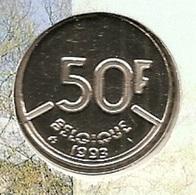 50 Frank 1993 Frans * F D C * BOUDEWIJN * - 1951-1993: Baudouin I