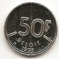 50 Frank 1993 Vlaams * F D C * BOUDEWIJN * - 1951-1993: Baudouin I