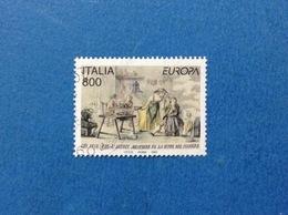 1997 ITALIA FRANCOBOLLO USATO STAMP USED EUROPA STORIA E LEGGENDE DA 800 - - 6. 1946-.. Repubblica