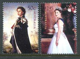 Australia 2006 80th Birthday Of Queen Elizabeth II Set MNH (SG 2624-2625) - 2000-09 Elizabeth II